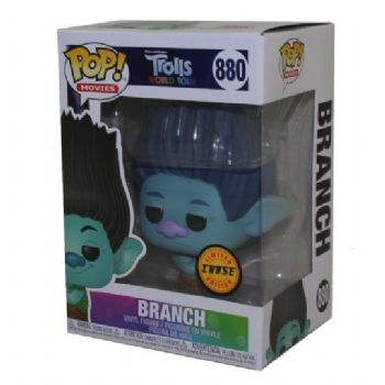 Funko POP! Vinyl Trolls World Tour Chase Branch Figure